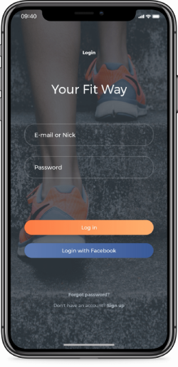 YourFitWay Application
